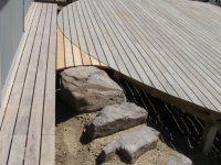 Silvertop Ash Decking - New Deck