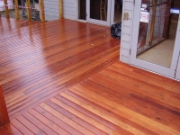 Southern Mahogany Deck @ Tea House