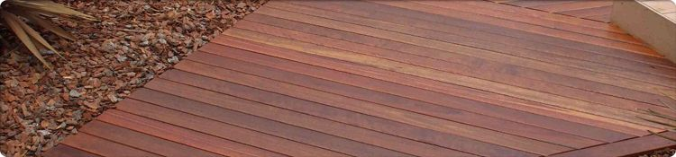 Red Ironbark Decking