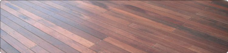 Redgum Decking