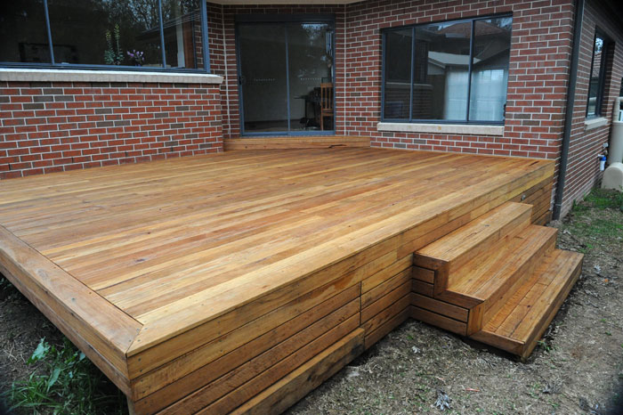 Blackbutt gallery hardwood decks for Best timber for decking