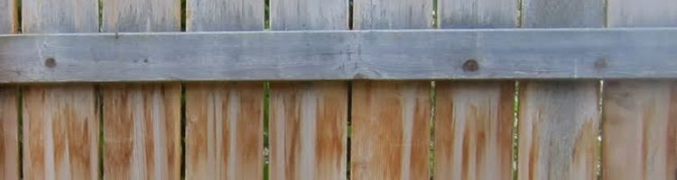 Stain on Timber | Avoid tannin stain on timber