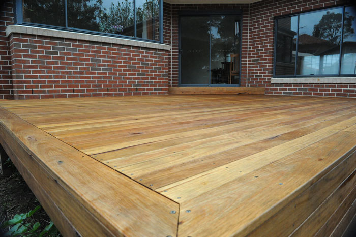 Blackbutt Gallery Hardwood Decks