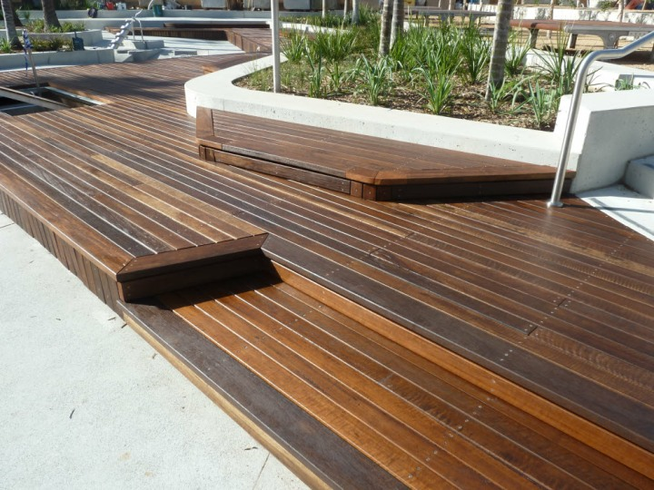 Spotted Gum Gallery Hardwood Decks